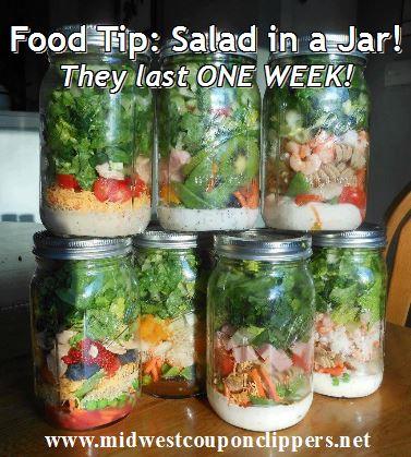 salad in a jar facebook page