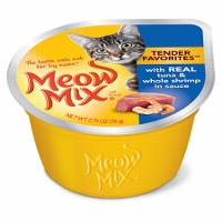 Meow Mix Wet Cat Food Cups