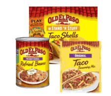 Old El Paso™ products
