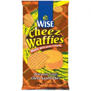 Wise Cheez Waffies 5oz Size