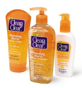 clean and clear facial care