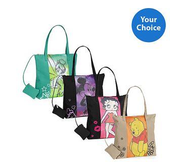 disney character tote bags