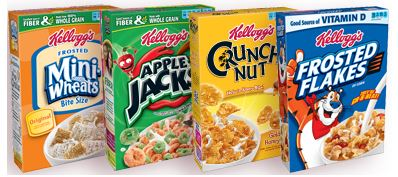 kelloggs target cereal