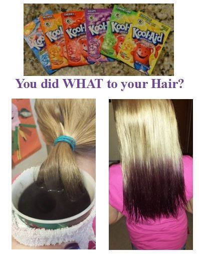 Kool-Aid Hair Dye!