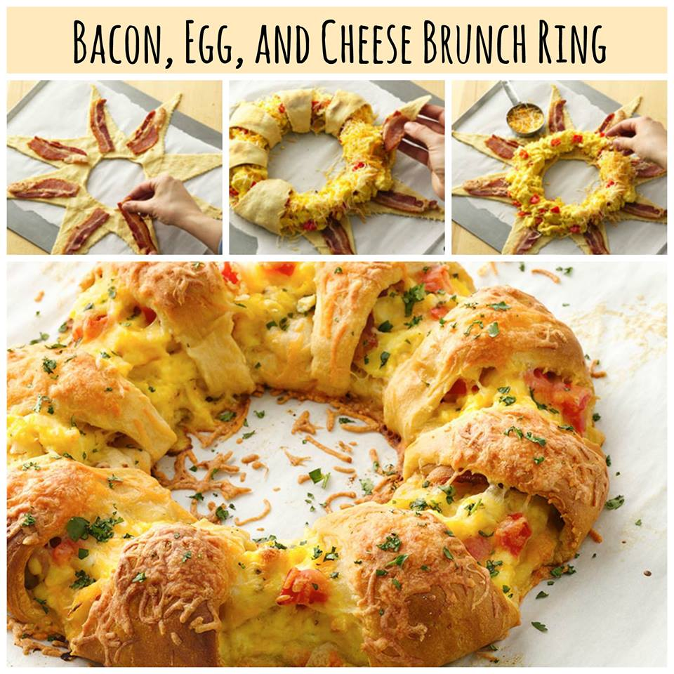Bacon Egg Amp Cheese Brunch Ring