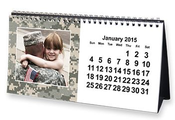 personalized 2015 desk calendar only 1 00 promo code provided