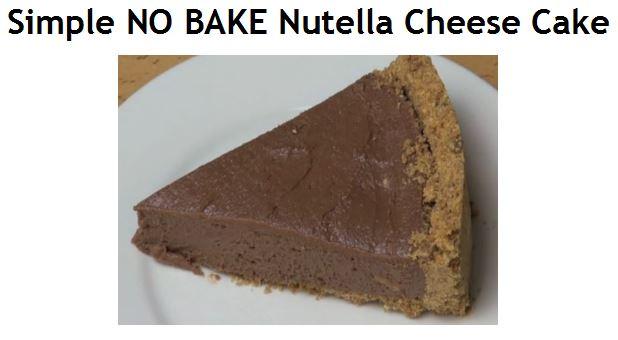 How To Make Philadelphia No Bake Cream Cheese Cake