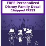 disney family decal streeters