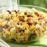 chicken poppy seed pasta salad