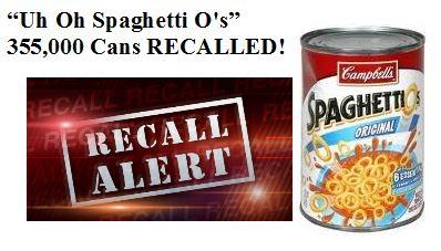 spaghetti o recall
