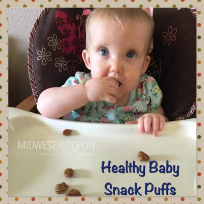 healthy baby snack puffs