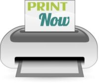 print now button