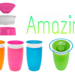 Amazon: 2 Count Pack of the Green & Blue Munchkin Miracle 360 Sippy Cups ONLY $7.75