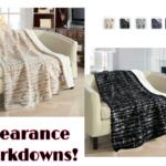 50″x60″ ULTRA PLUSH Micro Mink Sherpa Lined Blankets $10.40 (reg. $34.99) & FREE Store Pick Up