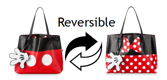 shopdisney i am mickey mouse reversible tote bag only 33 74 free