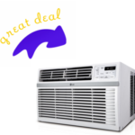 LG 115V Window Air Conditioner Unit with Remote $189 (Reg. $239) + FREE Shipping