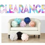 Walmart: Decorative Infinity Knot Pillow $5.00 (reg. $12.88) & FREE Store Pick Up