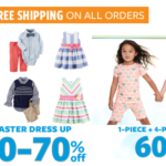 Carter's: 60% off PJs & Easter Dressy Attire + FREE Shipping