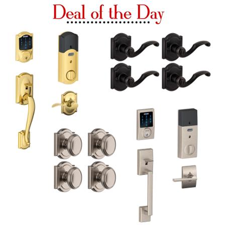 Deal Of The Day Up To 40 Off Select Smartlocks And Door