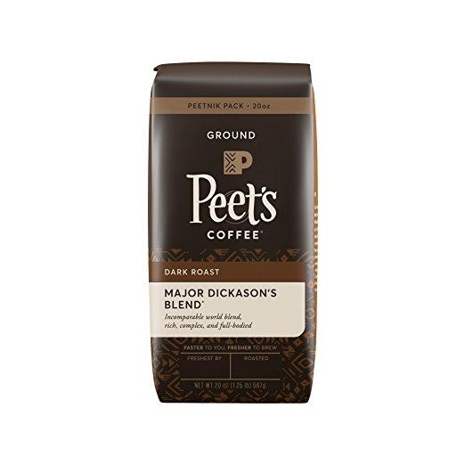 image regarding Peet Coffee Printable Coupon called Amazon: Peets Espresso, Peetnik Pack, Heavy Dickasons Mixture