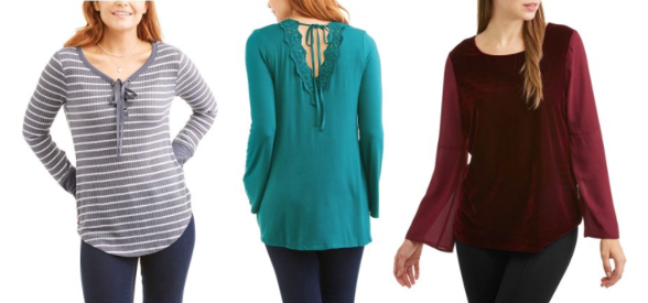 edaa5b01002a0 Walmart  Clearanced Women s Shirts   Blouses  2.50   Up – FREE Store ...