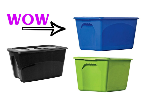 20 Gallon Storage Tote  sc 1 st  Midwest Coupon Clippers & 20 Gallon Storage Tote $3.48