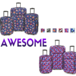 Elite 3-Piece Expandable Rolling Luggage Set $59.98 (Six Designs) FREE Shipping