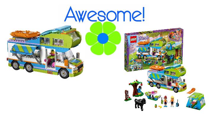 Lego Friends Mia S Camper Van 41339 Building Kit 488