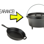 Clearanced Lodge 7-Piece Camp Cooking Set $54.38 & FREE Shipping