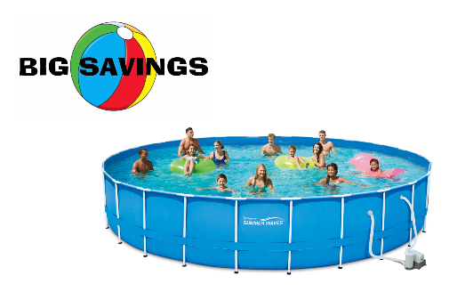 Walmart Summer Waves 24 X 52 Metal Frame Above Ground