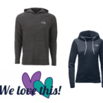 The North Face Women's Lightweight Hoodie or Men's Triblend Hoodie