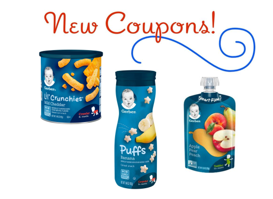 photograph relating to Gerber Printable Coupons named Printable Discount codes: Help save $3.00 upon Gerber Youngster Foods