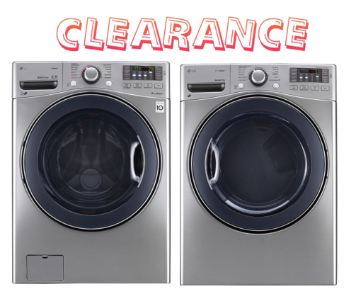 Lg High Efficiency Stackable Front Load Washer Or Dryer
