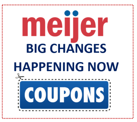 effective immediately meijer couponing will never be the same two
