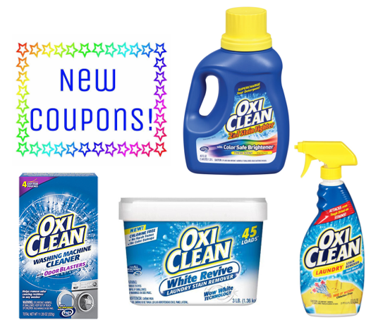Save 3 50 On Oxiclean Laundry Products