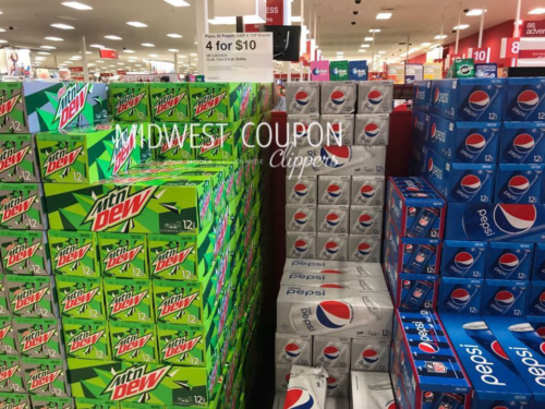 Target: Pepsi Product 12-Pack Cans or 8-Pack Bottles $2.00