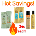 Target: Stock up on Suave Professionals Hair Care! ONLY 24¢ each! (valid thru 4/23)