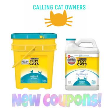 graphic about Tidy Cat Printable 3.00 Coupon called Help you save $7.00 upon Purina Tidy Cats Cat Clutter 2 Higher Significance Coupon codes