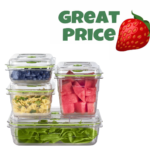 4 Piece Set FoodSaver Fresh Vacuum Seal Food & Storage Containers ONLY $23.99 & FREE Shipping