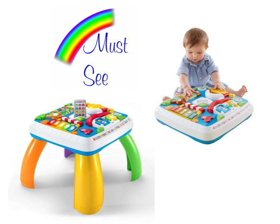 Fisher Price Laugh Amp Learn Around The Town Learning Table
