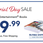 Entertainment Books: All Books $9.99 + FREE Shipping!