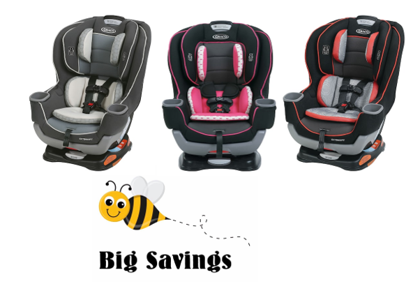 kohl s graco extend2fit convertible car seat earn 30 kohl s cash. Black Bedroom Furniture Sets. Home Design Ideas