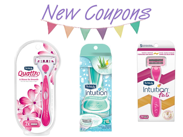 photograph relating to Printable Razor Coupons named Printable Coupon: Help you save $4.00 upon (1) Schick Quattro for Ladies