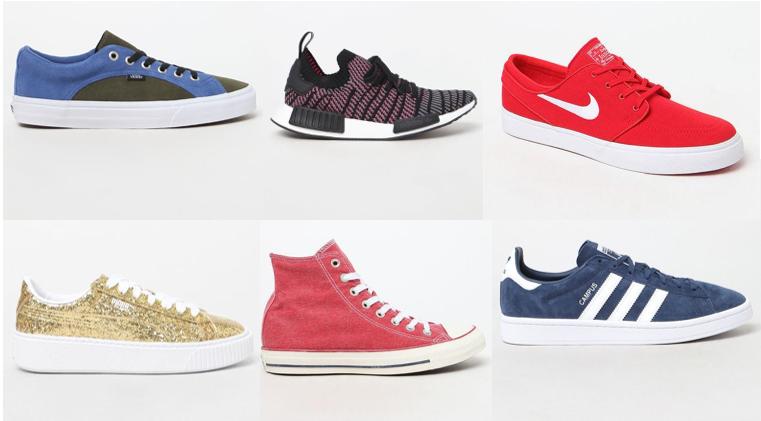 50% off Sneaker Styles – adidas, Nike, Converse, Vans!