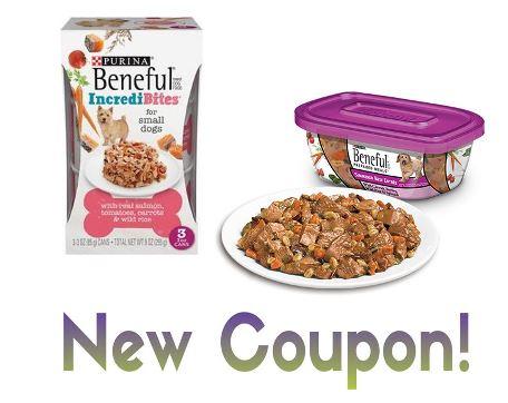 Printable Coupon B2g1 Free Purina Beneful Wet Dog Food