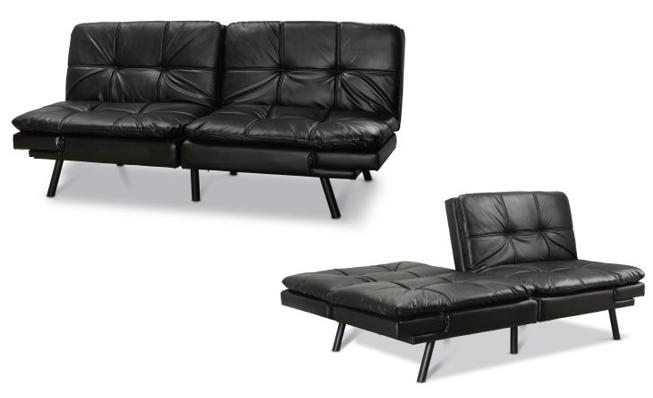 mainstays memory foam futon free shipping. Black Bedroom Furniture Sets. Home Design Ideas