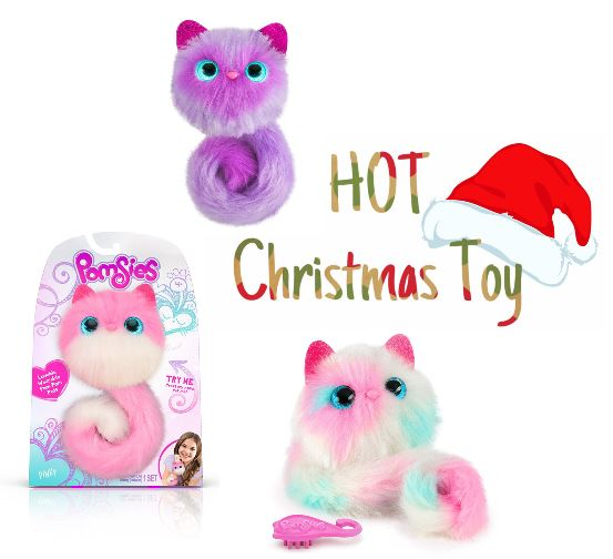 2018 must have christmas toy in stock pomsies plush interactive toys