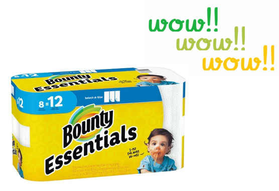 Bounty makes super absorbent paper towels that are every bit as good as real towels when it comes to picking up messes. Use these printable coupons to get savings on Bounty paper towels. Using a dish cloth can get ugly – they can get germy and stained after a few uses.