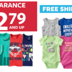 $2.79 Carter's Clearance + FREE Shipping!