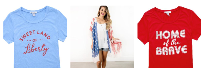 Bogo free 4th of july sale free shipping for 6 dollar shirts coupon code free shipping